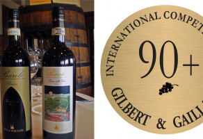 GOLDEN MEDALS BY FRENCH GUIDE FOR BOTH BAROLO CRUS